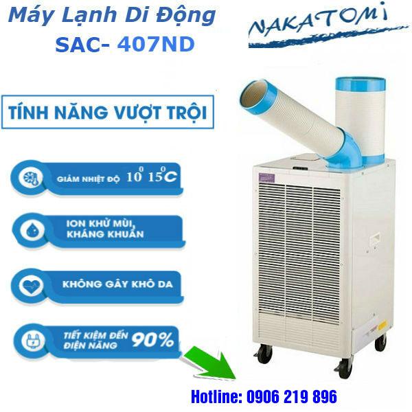 Những ưu điểm của máy lạnh di đông Nakatomi chính hãng