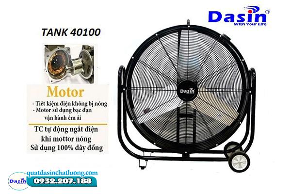 Quạt sàn di động công suất lớn Dasin Tank- 40100