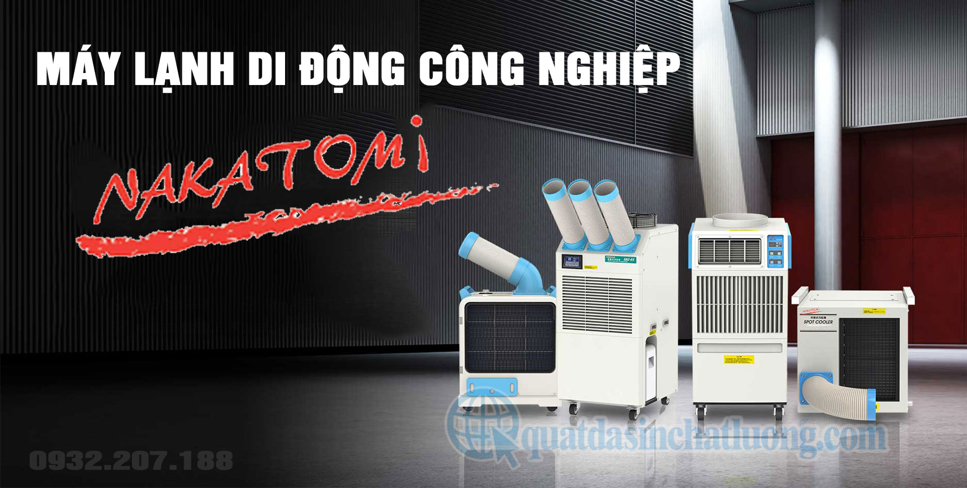 cung cấp máy lạnh di động công suất lớn